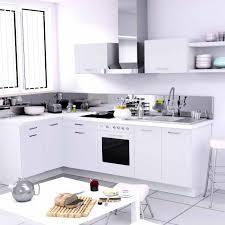cuisine d angle cuisine avec plaque de cuisson en angle 8 ophrey modele cuisine