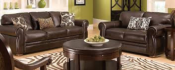 Marsala Traditional Leather Living Room Collection