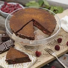 himmlische schoko himbeer tarte speisekarte bäckerei