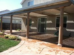 Fiberglass Columns Upgrade Sacramento Patio Covers