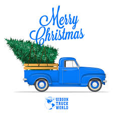 100 Gibson Truck Merry Christmas From World
