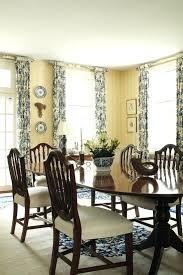 Dining Room Curtains Ideas Decor Windows Regarding For Stylish Window Treatments