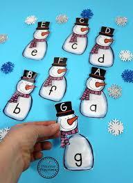 Snowman Activities for Preschool Planning Playtime