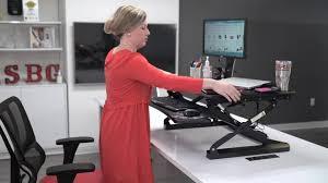 Jesper Sit Stand Desk Staples by Staples Sit To Stand Adjustable Desk Riser 27