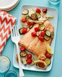 Salmon Sheet Pan Dinner Recipe From Weelicious