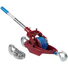 3 Ton Ratchet Puller With 35' Of 5/16
