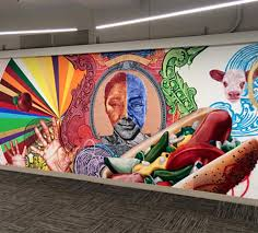 Big Ang Mural Chicago by Chicago U0027s Most Prolific Dog Muralist On The Right Way To Eat A