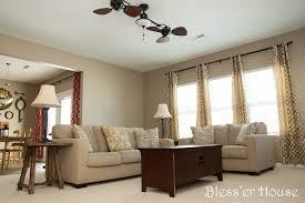 Harbor Breeze Twin Breeze Ii Ceiling Fan by Update Living Room Progress January 2014 Bless U0027er House