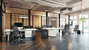 104 Interior Design Loft Modern Office Concept 3d Rendering Stock Photo Picture And Royalty Free Image Image 114214459