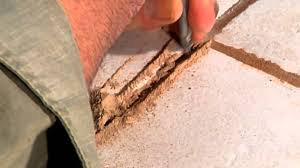 Regrouting Tile Floor Bathroom by How Do I Repair A In Tile Grout Ceramic Tile Repair Youtube