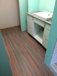 Marmoleum Bathroom Floor Remodel Style Before Rubber Flooring Click