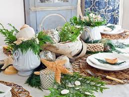 Seaside Christmas Party Decor Ideas