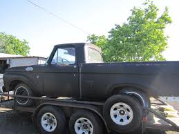 Ford F-100 Questions - I Have A 1963 Shortbed Unibody And I Was ...