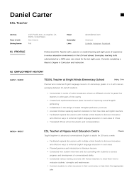 ESL Teacher Resume Sample & Writing Guide   Resumeviking.com Teacher Contact Information Mplate Uppageco Resume Templates Leadership Qualities Work Professional Resume Examples Personal Teacher Assistant Sample Writing Tips Genius Leading Management Cover Letter Examples Rources Strong Organizational Skills Person For To Put On A Qualities For 6 Characteristics Of Preschool Monstercom