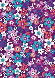 Funky Purple Flowers Scrapbook Paper Cliquer Au Dessus De Limage Pour Ouvrir PDF