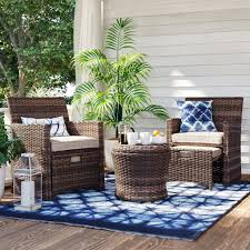Best Target Outdoor Furniture For Small Spaces | POPSUGAR Home Marvelous Brown Woven Patio Chairs Remarkable Plastic Delightful Wicker Folding Fniture Resin Best Bunnings Outdoor Black Lowes Ding French Caf 3pc Bistro Set Graywhite Target Stackable Metal Buy All Weather Gray Cozy Lounge Chair For Exciting Gorgeous Designer Home Depot Clearance Grey 5piece Chairsplastic Marvellous Modern Beautiful Yard Winsome Surprising