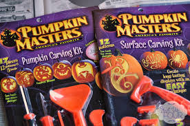 Pumpkin Masters Carving Kit by Easy Carved Pumpkins For Halloween My Suburban Kitchen