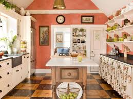 Coral Color Interior Design by Best Colors To Paint A Kitchen Pictures U0026 Ideas From Hgtv Hgtv
