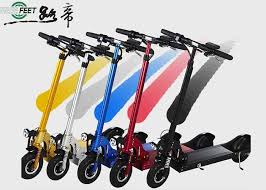 Foldable 2 Wheel Standing Electric Scooter For Teenagers Light And Handy