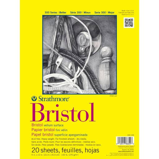 Strathmore Bristol Sketch Pad - 20 Sheets
