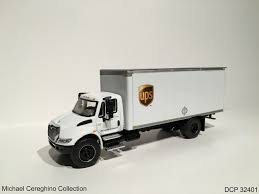 100 Ups Truck Toy Diecast Replica Of UPS Cartage Service Inc International Flickr
