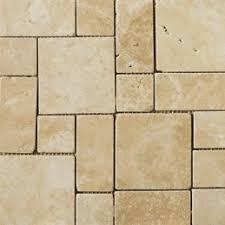 emser tile travertine 12 x 12 mini versailles mosaic in beige