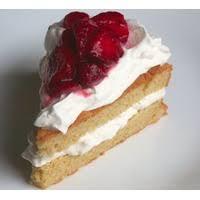 Central Market Strawberry Shortcake Slice