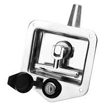 100 Truck Tool Box Locks T Type Stainless Steel RV Caravan Car Handle Latch