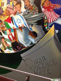 Denver International Airport Murals New World Order by Denver International Airport Bunker Are The Murals A Conspiracy