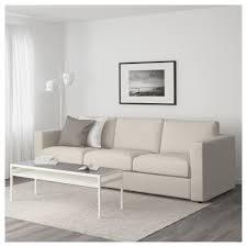 le a pile ikea vimle 3 seat sofa gunnared beige ikea