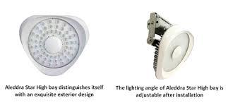 Aleddra Announces High Performance LED Highbay Luminaire