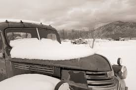 Steve Immel Photography: Trio Of Trucks In The Snow