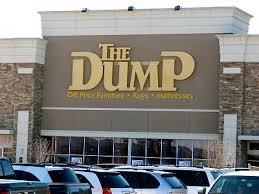 The dump furniture
