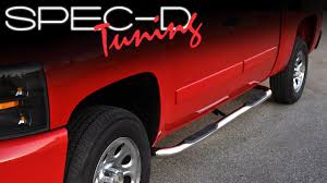 SPECDTUNING INSTALLATION VIDEO: TRUCK SUV SIDE STEP BARS ... A1 Sidestep Truck Access Ladder Traxion Engineered Products Topline 746756372519 5 Oval Side Step Nerf Bars Running Boards Ram Hd Mopar Steps Do It Yourself Trend Buy 0515 Toyota Tacoma Quad Cab Bar Traxion 657974 Accsories At Bully Bbs1103 4pcs Stepbbs1104l Black Hitch Wled Tac For 092018 Dodge Ram 1500 Pickup 3 Close Up Of Stair Stock Photo Picture And Big Country Best Used To In Alberta