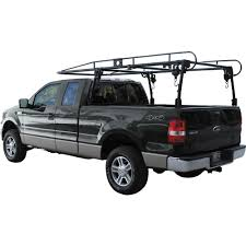 Buyers Products Company Pickup Truck Black Ladder Rack-1501100 - The ... X35 800lb Weightsted Universal Pickup Truck Twobar Ladder Rack Kargo Master Heavy Duty Pro Ii Pickup Topper For 3rd Gen Toyota Tacoma Double Cab With Thule 500xtb Xsporter Pick Shop Hauler Racks Campershell Bright Dipped Anodized Alinum For Trucks Aaracks Model Apx25 Extendable Bed Review Etrailercom Ford Long Beddhs Storage Bins Ernies Inc