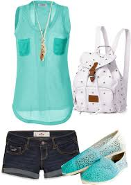 Casual Summer Outfit Just Replace The Shoes With Matching Flip Flops And BAM AWESOMENESS