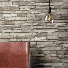 newroom vliestapete qubrick steintapete grau steintapete ziegelstein backstein mauerwerk klinker stein tapete steinoptik wohnzimmer tapete