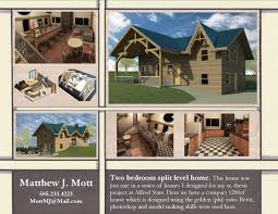 100 Split Level Project Homes Two Bedroom Home Matthew Mott Archinect