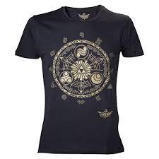 zelda triforce crest t shirt black amazon co uk toys games