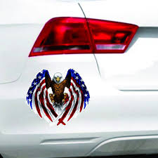 Car Decal Flying Hawk Auto Truck Hood Side Eagle USA Flag Sticker ... Intertional Eagle 9300i Truck V 10 Ats Mod American 2007 Intertional 9900i Eagle Sleeper For Sale Auction Or Up For Sale 1999 9900i Eld Exempt Tractor Usa Skin Kenworth T680 Mods Trucking 2003 9200i Sba Highway Flag With Window Wrap The Odyssey Shoppe And Equipment Llc Snacks 1 Anheuser Busch Logo Sams Man Cave Good Cdition Ready To Work