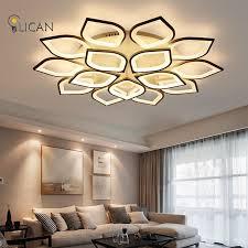 lican modern led ceiling chandelier lights for living room bedroom