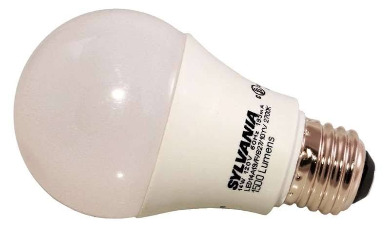 Sylvania 79292 Led A19 Replacements Bulb - Soft White, 100W