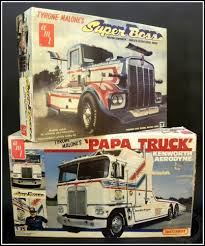 Tyrone Malone's Kenworth PAPA TRUCK & SUPER BOSS Dragster Vintage ...