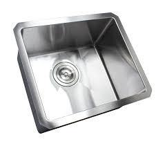 Karran Edge Undermount Sinks by 17 Inch 16 Gauge Undermount Single Bowl Stainless Steel Sink 15mm