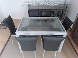 glastisch stühle metall ebay kleinanzeigen