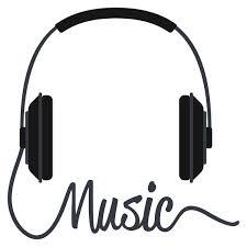 wandtattoo wohnzimmer musik kopfhörer schriftzug wandsticker musik wohnzimmer deko