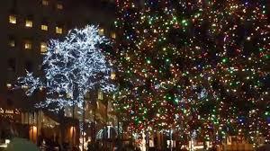 Rockefeller Plaza Christmas Tree by Rockefeller Center Christmas Tree 01 02 2015 Youtube