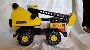 Vintage Tonka Truck Clamshell Crane - Pressed Steel Very Clean ...
