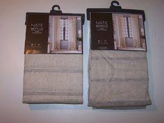 Nate Berkus Herringbone Curtains by Nate Berkus Designer Chocolate Herringbone One Window Panel 54