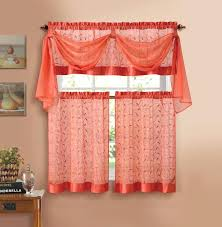 White Kitchen Curtains With Red Trim by White Kitchen Curtains With Red Trim Image Of And Valances Yellow